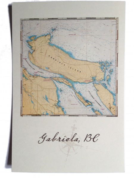 Gabriola postcard