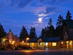 Folklife Village at Night. Photo Bill Pope